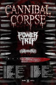 Cannibal Corpse Tour 2017
