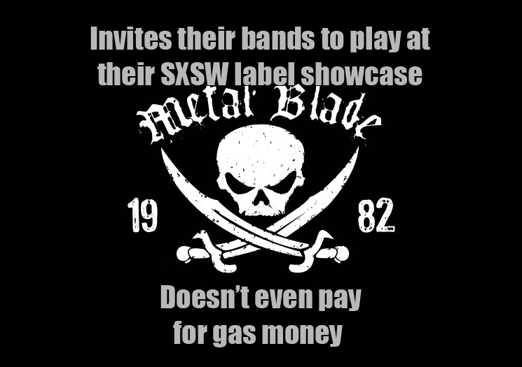 Metal Blade showcase at SXSW